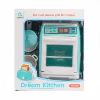Игрушка Кухонная плита с духовкой и аксессуарами №YH129-7B звук,свет/коробка/20*17*10