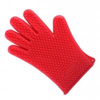 Прихватки рукавицы силиконовые Hot Hands перчатки