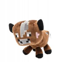 Коричневая корова Майнкрафт мягкая игрушка 15см