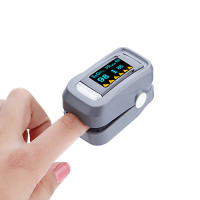 Пульсоксиметр (кислородный концентратор) портативный на палец измеряет кислород в крови LK88