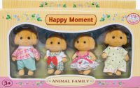 HAPPY FAMILY 4 персонажа СОБАЧКИ