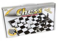 Шахматы пластик магнитные 21 см. B14