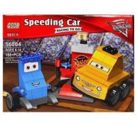 """Конструктор Speeding Car Тачки """"Гвидо и Луиджи"""" 188 дет  56004 QS08"""