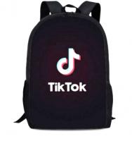 Рюкзак Tik-tok Тик-ток молодёжный, твёрдая спинка USB-порт два отделения однотонный