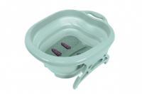 Массажер ванночка для ног роликовый складной 49х39 см J16