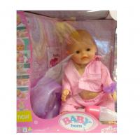 Кукла Пупс типа беби бон функциональный/коробка (38*33*19) в пижаме моргает горшок пьет писает