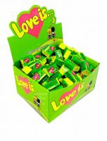 "Жев.резинка ""Love Is"" Яблоко+Лимон зеленый"