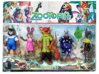 Зверополис Zootopia 5 персонажей